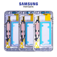 Original For SAMSUNG Galaxy S7 Middle Frame Housing LCD Metal Frame G930F For SAMSUNG GALAXY S7 Edge Housing Back S7Edge G935F(China)