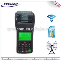 Handheld WiFi Printer Compatible with GPRS / SMS For Online Food Delivery and Takeaway