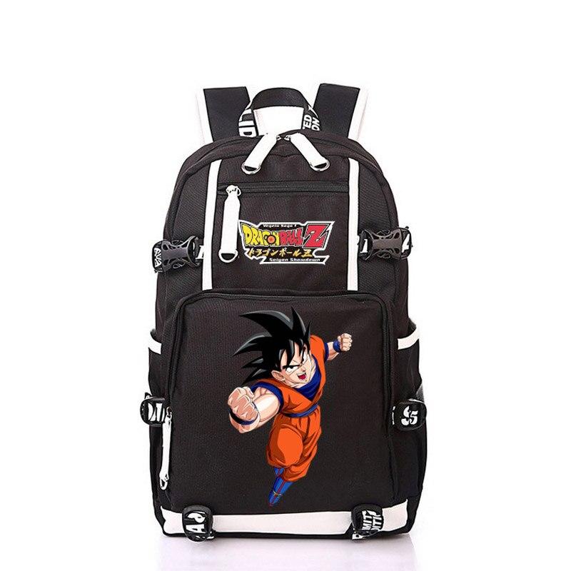 Japan Anime Dragon Ball Z Son Goku Women Men Backpack Mochila Schoolbag Bag For School Boys Girls Student<br>