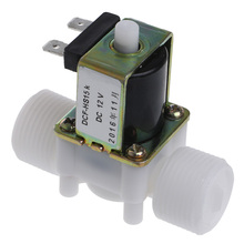 "3/4"" DC12V PP N/O Electric Solenoid Valve Water Control Diverter Device#L057# new hot(China)"