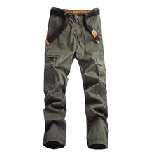 2017 Spring New European and American Fixture Pants Bag Trousers Slim Casual Cargo Pants Men Nice Cutting Size:28-38 V7C1P002