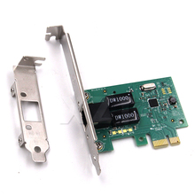 New 1000Mbps Gigabit Ethernet PCI Express PCI-E Network Card 10/100/1000M RJ-45 RJ45 LAN Adapter Converter Network Card Control