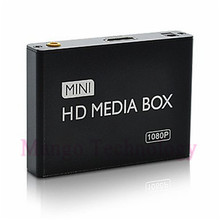 2016 mini HDMI Media Player 1080P HDD-HDMI Full HD TV Video multimedia player box support MKV/RM-SD/USB/SDHC/MMC