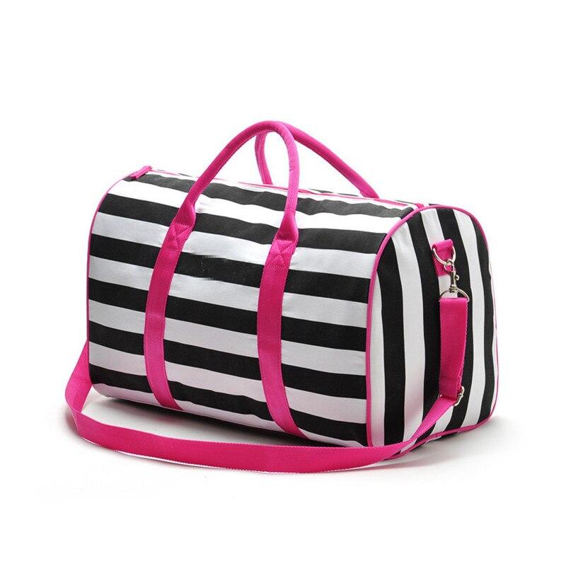 2017 women famous brands handbags Travel duffle crossbody bag casual women messenger bags victoria stripe bag beach bags <br><br>Aliexpress