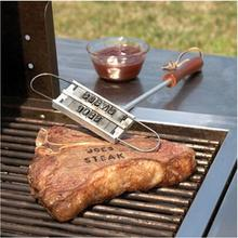 Outdoor BBQ Meat Branding Iron with Changeable 55 Letters Personality Steak Barbecue BBQ Grill Tool Kitchen Accessories EJ871734(China)