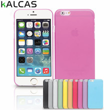 "KALCAS Made in CN Soft Plastic Matte Case Cover Protector For Apple iPhone 4 4S 5 5S 5C 6 6S 4.7""6Plus 7 7Plus Mobile Phone case(China)"