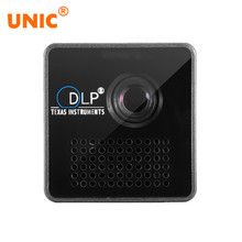 Drop Ship UNIC P1 P1+ WIFI Wireless LED Pico Smart Mini Projector,Micro Miracast DLNA Handheld Video Proyector Beame(China)