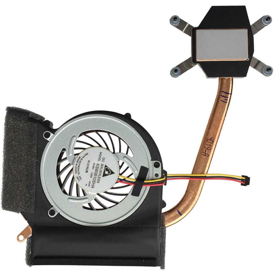 New CPU cooling fan For ThinkPad L412 L512 FRU:60Y5019  60Y5020 heatsink DELTA KSB06105HA<br>