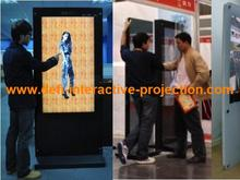 "2 points 65"" IR Infrared Touch Screen Frame without glass, Dust and water proofing, anti-vandal for touch table, kiosk etc"