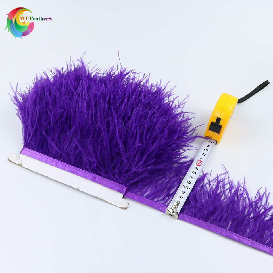 O15 8-10cm ostrich trims 5