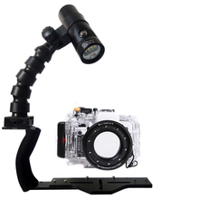 Underwater Waterproof Housing Diving Case For Sony RX100 I II III IV Camera Camera + Flex Arm Bracket + Diving Led Video Torch