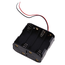 Superior 8 AA Battery Holder Box 2A Battery 12V Clip Holder Box Case with 6inch Leads 1pcs battery container DIY Parts BS(China)