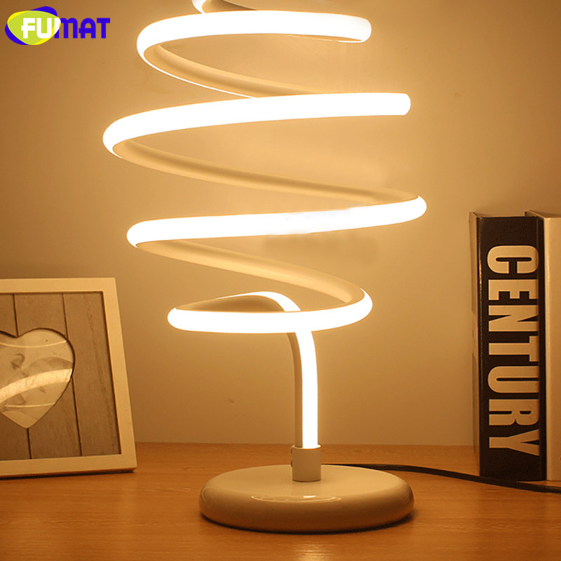 Honeycomb Spiral Table Lamp 11