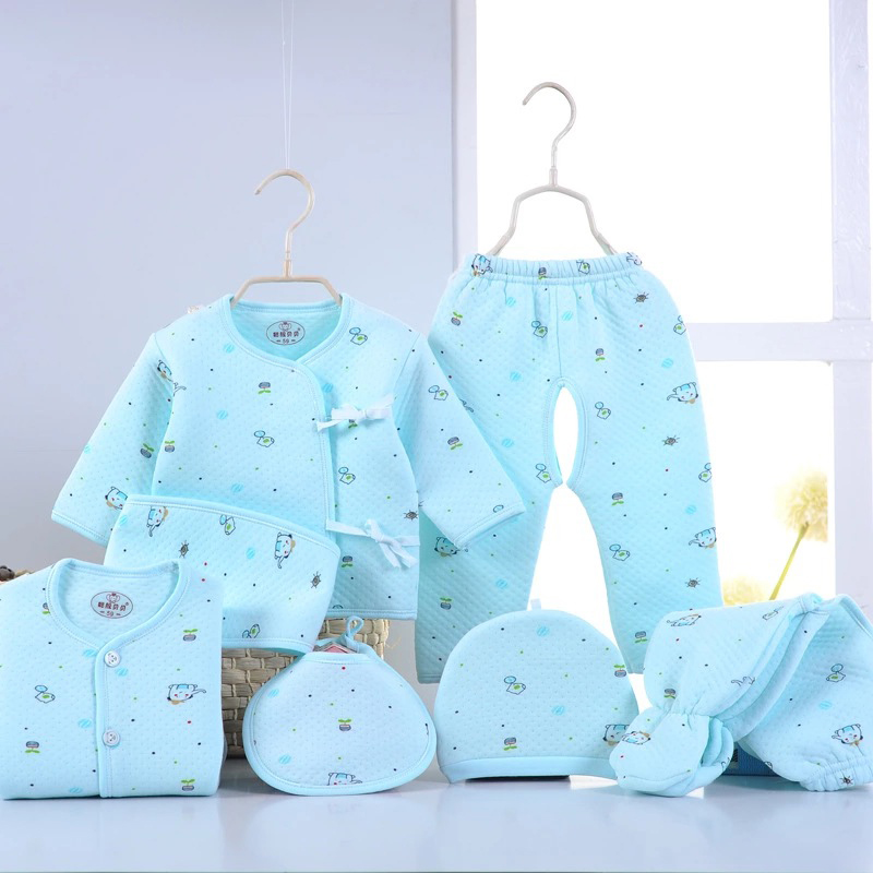 Newborn Baby 0-3M Clothing Set O-Neck Baby Blue  Boy/Girl Clothes 100% Cotton Cartoon Velour Full Fashion Solid Belt Kid clothes<br><br>Aliexpress