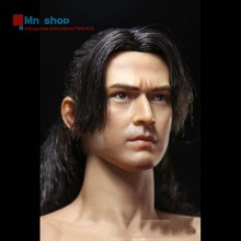 "ZC TOYS New Style 1/6 Scale Takeshi Kaneshiro Head Sculpt Male Soldier Model Nude Muscular Body 12"" Action Figure Toys"
