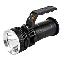 Rechargeable LED Flashlight Police 300-500M Waterproof Led Torch Handheld SOS Lamp Aluminum Alloy Tactical Flash Light