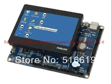 Free shipping arm11 S3C6410 OK6410-A Development board +4.3 Inch Touch Screen +14DVD /USB to serial(China)