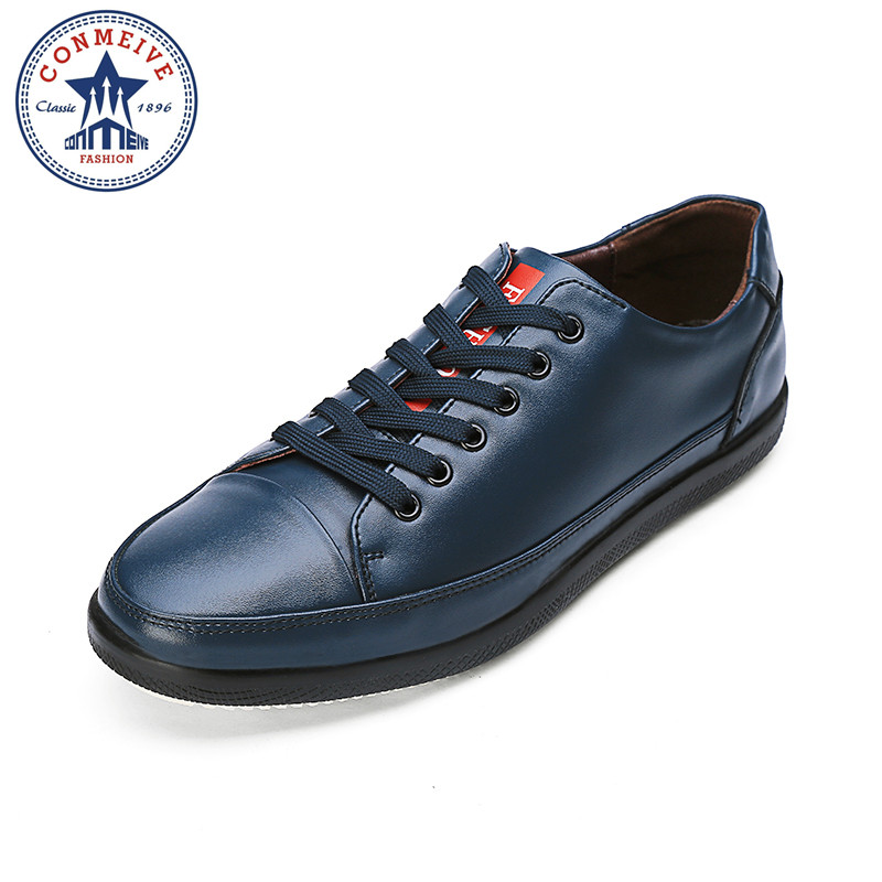 2017 Men Loafers Comfortable Handsome Brand Genuine  Leather Men Flats Business Men Loafer  Shoes Autumn Moccasins<br>