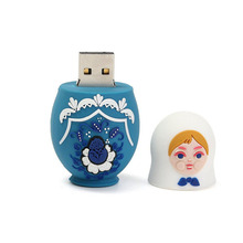 32GB USB 3.0 USB Flash Drive Memory Stick Storage Device U Disk Matryoshka Small Cute Doll Russian Style For PC Tablet Computers