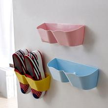 1 PC New Creative Plastic Shoe Shelf Stand Cabinet Display Shelf Organizer Wall Rack High Quality(China)