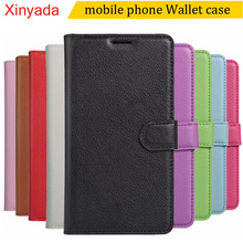 Xinyada Wallet Leather case For ZTE Geek 2 II Lte (not Geek2),phone bags cover Book with card holder ,with tracking number(China)