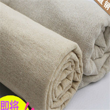 158cm width plain solid colour linen Fabric Cloth hemp jute Fabric table cloth Garments Crafts Accessories G1501