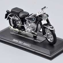 Collectible Juguetes Mini 1/22 Scale ITALERI Motorcycle Model Diecast  Moto Black R51 500cc Motorcycle Kids Toys Gift
