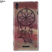 "For Sony T3 Case Sony Xperia T3 Cover D5102 M50w IMD Process printing TPU Case For 5.3"" Sony T 3 mobile phone case Xperia T3"