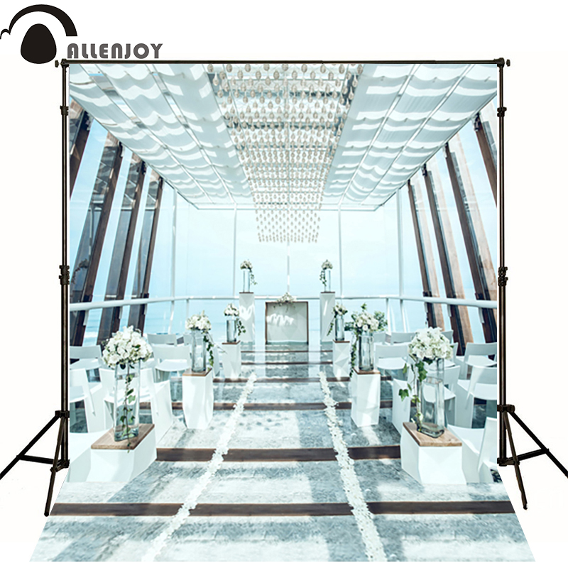 300*600cm(10ft*20ft) photo background Wedding background Crystal Light chair photography backdrops<br><br>Aliexpress