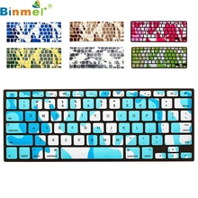 Binmer Factory Price Soft Keyboard Silicone Cover Case Protect Skin For MacBook Pro 13''-15'' AA June13 Drop Shipping
