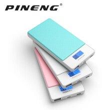 Pineng Power Bank 10000mAh External Battery Mobile Quick Charger QC3.0 Type-C USB LCD Powerbank iPhone Samsung LG HTC Xiaomi
