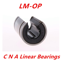 4 pcs LM16UUOP bearing 16mm linear motion ball bearing bush bushing for 16mm linear guide rod round shaft cnc parts