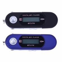 Portable Mini Digital MP3 Player 3.5mm Headphone Microphone Jack LCD Screen Music Players+Earphone Support FM/Micro SD/TF Card