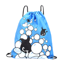 Waterproof Polyester Drawstring Shoes Bag Football Toys Storage Bag Backpack Travel Organizer Housekeeping Pouch Fast Shipping(China)