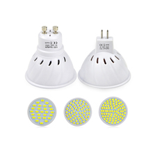 220V GU10 MR16 2835 5730 SMD LED Spotlight Lamp LED Bulb GU5.3 Lamparas Spot light Candle Downlight Replace CFL 5W 7W 9W 12W 15W