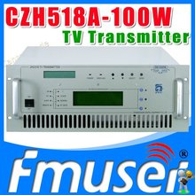 CZH518A-100W VHF UHF All Solid State wireless analog TV Signal Broadcast transmitter TV Station Broadcasting Equipment