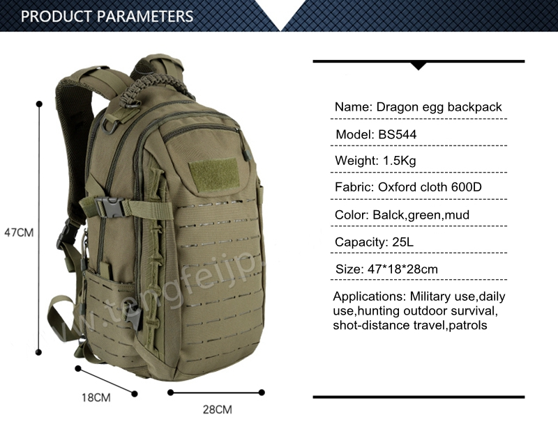 Military Army Tactical Backpack Sport Travel Rucksacks (1)
