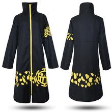 Anime Two Years Later One Piece Cosplay Costume Akatsuki Trafalgar Law Cartoon Cloak/Cape Halloween Party Cosplay Costumes