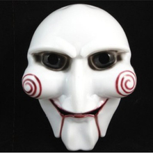 Masquerade Masks Scary Saw Chainsaw Killer Full Face Mens PVC Costume Party Horror Mardi Gras Mask For Halloween Holidays Balls