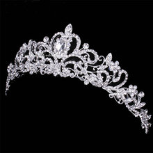 2016 Hot Wholesale Luxury Rhinestone Tiaras and Crowns Wedding Tiara Bridal Crown wedding tiaras for brides