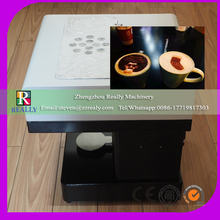 HOT SALE Digital latte art printer printing edible photo to coffee WITH FCC certification