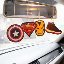 2pcs/lot Air Freshener car perfume in the car ambientador perfuming For Athletic Pleasant Fragrance car-Type Christmas ornaments(China)