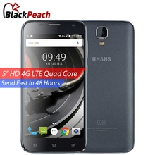 UHANS A101 4G Mobile Phone 5 Inch HD 1280x720 IPS MTK6737 Quad Core Android 6.0 1GB RAM 8GB ROM 5MP CAM Dual Sim Smartphone