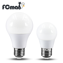 E27 LED Bulb Lamps 4W 6W 9W 12W 220V Light Bulb Smart IC Real Power High Brightness Lampada LED Bombillas