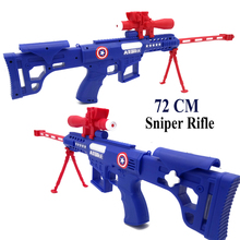 72cm Large Size Glowing Sound Toy Guns Sniper Rifle Cartoon Hero Children's Gifts