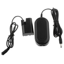 ACK-E6 AC Power Adapter with Power Cable For CANON EOS 60D 7D 6D 5D Mark II III 5D3 +DC Coupler