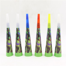 6pcs/lot Teenage Mutant Ninja Turtles party supplies Noise maker for party favors gift play games horn boy birthday  decoration