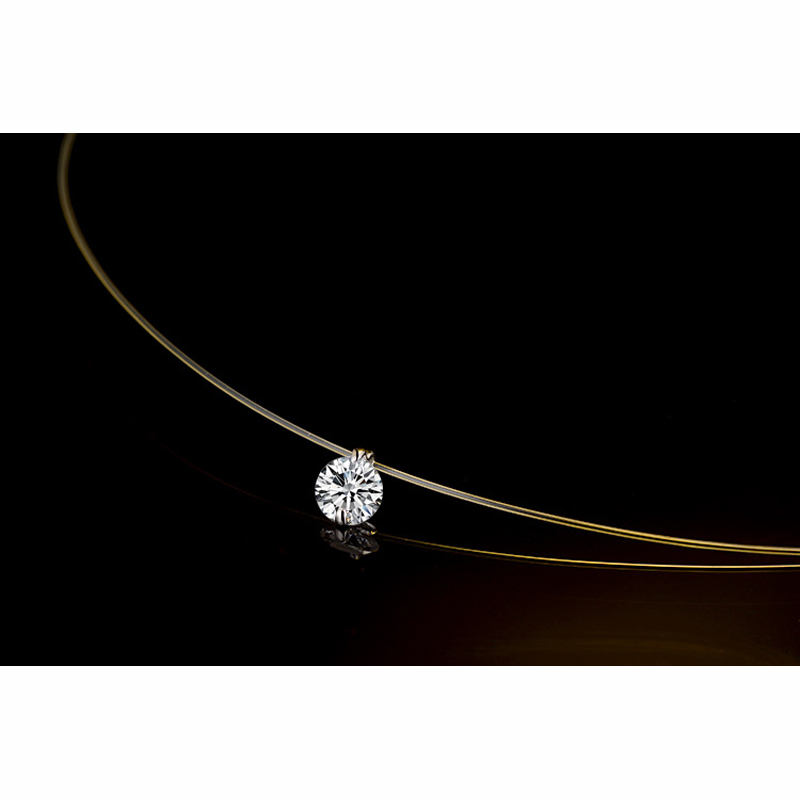 YAAMELI-One-Zircon-Clearly-Austrian-Crystal-Pendant-Fashion-Silver-Chain-Short-Women-Necklaces-For-Women-Female (3)