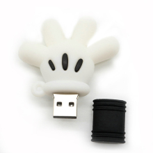 USB flash drive mickey mouse hand pen drive 64GB 32GB 16GB 8GB 4GB pendrive u stick novelty usb drive download for u disk(China)