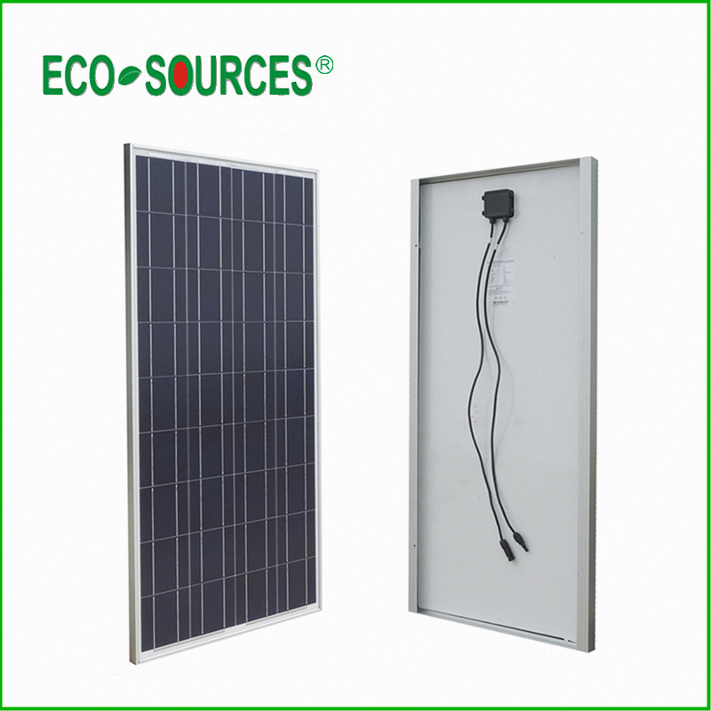 USA Stock New 100W Poly Solar Panel 100W Solar Module 12V Home Caravan Boat Power Supply with CE Certification(China (Mainland))